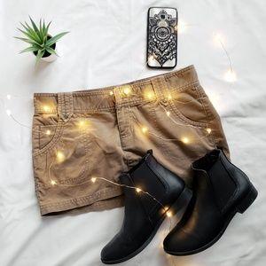 Mossimo Supply Co. Skirts - Tan corduroy mini skirt